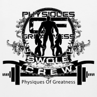Design ~ Swole Crew Black Tank