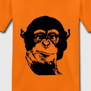 Denken Chimp Kids T-Shirt - Kinder Premium T-Shirt