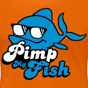 Pimp My Fish Fisch Tier cool T-Shirts - Frauen Premium T-Shirt