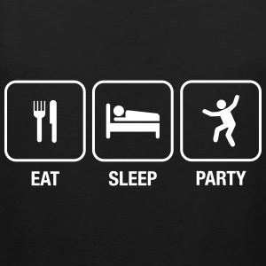 Eat, Sleep, Party Tee shirts - Débardeur Premium Homme