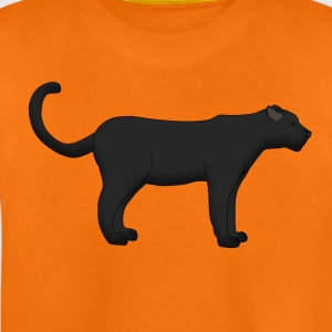 black panther stand T-shirts - Teenager premium T-shirt