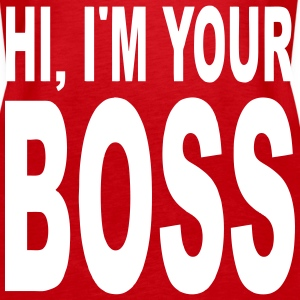 your boss Tops - Women's Premium Tank Top