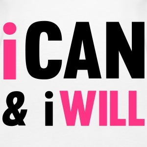 I Can And I Will Tops - Frauen Premium Tank Top