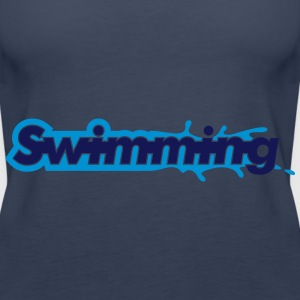 Swimming Topper - Premium singlet for kvinner
