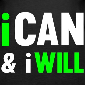 I Can And I Will Toppe - Dame Premium tanktop