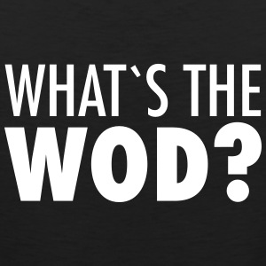 What´s The WOD Tee shirts - Débardeur Premium Homme
