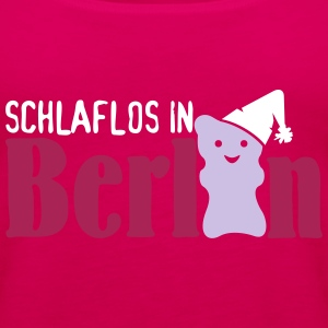 Schlaflos in Berlin (3c) Tops - Frauen Premium Tank Top
