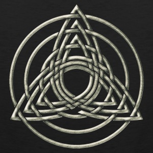 Triple Triquetra, Trinity, Symbol of perfection T-Shirts - Männer Premium Tank Top