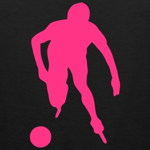 roller foot silhouette soccer 3 Tee shirts - Débardeur Premium Homme