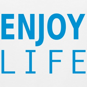 enjoy life T-Shirts - Männer Premium Tank Top