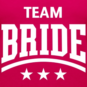 Team Bride (Stars) Tops - Women's Premium Tank Top