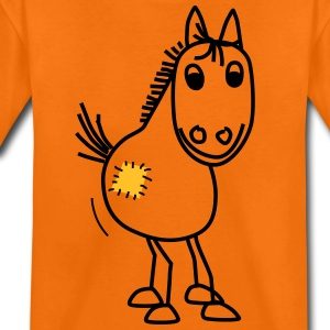 Pony mit Flicken - Teenager Premium T-Shirt