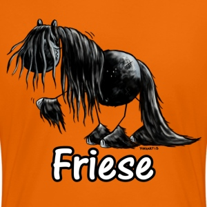 Lustiges Friesenpferd - Friese - Pferd T-Shirts - Frauen Premium T-Shirt
