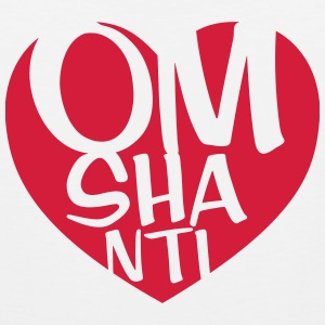 Om Shanti T-Shirts - Men's Premium Tank Top