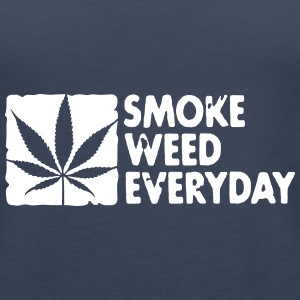 smoke weed everyday boxed Tops - Women's Premium Tank Top