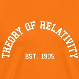 Theory of Relativity - Est. 1905 (Half-Circle) T-Shirts - Men's Premium T-Shirt