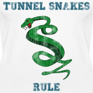 Tunnel Snakes Rule - Women's Premium Tank Top