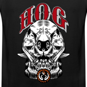 wild_hog_skull T-Shirts - Men's Premium Tank Top