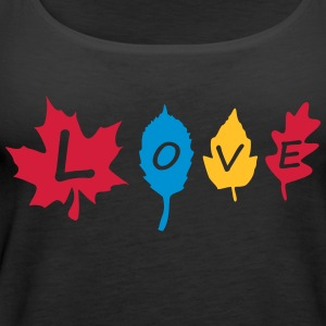 fall_leaves_color Tops - Women's Premium Tank Top