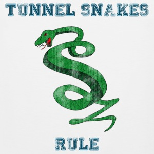 Tunnel Snakes Rule - Men's Premium Tank Top