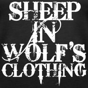 Sheep In Wolf's Clothing - white Tops - Frauen Premium Tank Top