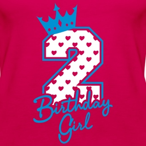 Zweiter Geburtstag-Second Birthday-Birthday Girl Tops - Vrouwen Premium tank top
