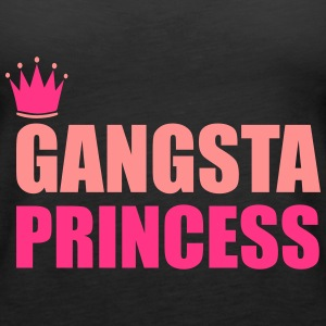 Gangsta Princess Topy - Tank top damski Premium