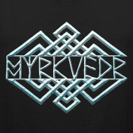 Design ~ Myrkvedr - Logo (Ice)  Tank Top
