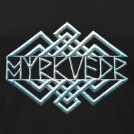 Design ~ Myrkvedr - Logo (Ice)  Tank Top
