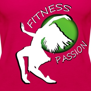 Fitness passion Tops - Frauen Premium Tank Top