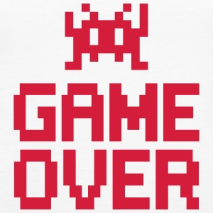 game over with sprite Top - Canotta premium da donna