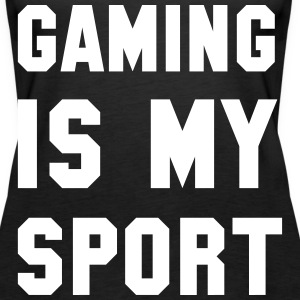 Gaming is my Sport Tops - Frauen Premium Tank Top