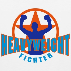 heavyweight fighter T-Shirts - Men's Premium Tank Top