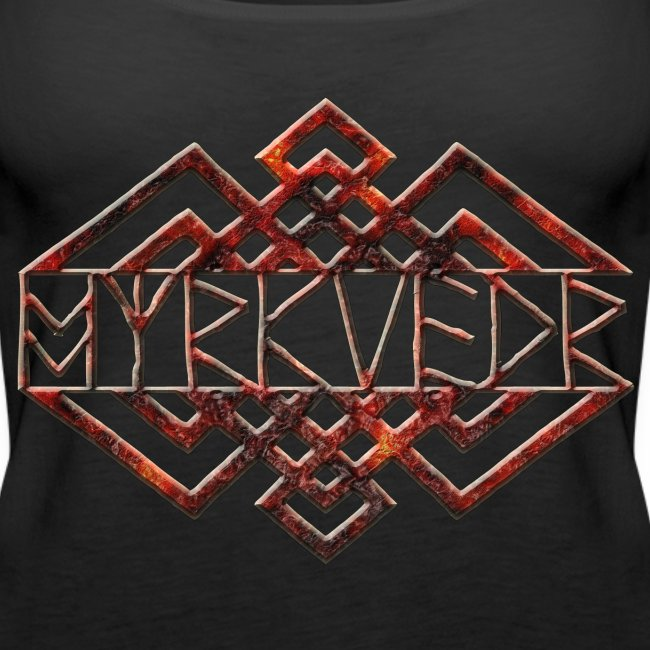Myrkvedr - Logo (Fire) Tank Top (Women)