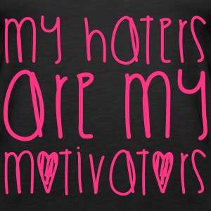 Haters Are My Motivators Toppe - Dame Premium tanktop
