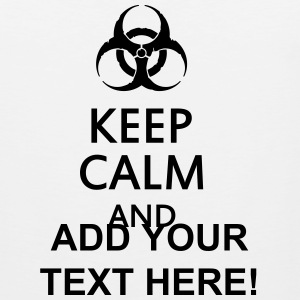keep calm and toxic  Tee shirts - Débardeur Premium Homme