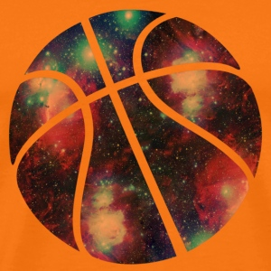 basketball galaxy T-Shirts - Men's Premium T-Shirt