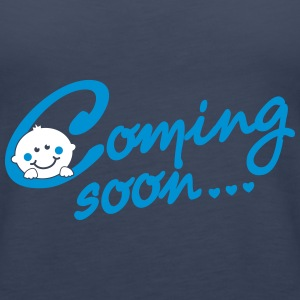 Coming soon Baby Tops - Women's Premium Tank Top