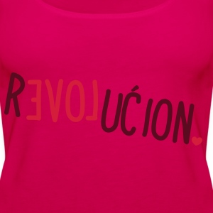 Love Revolucion Tops - Women's Premium Tank Top