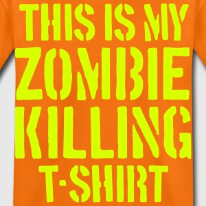 The Zombie Killing Tee - Kinder Premium T-Shirt