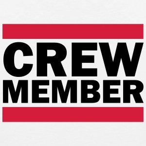 Crew Member T-Shirts - Men's Premium Tank Top