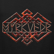 Design ~ Myrkvedr - Logo (Fire) Tank Top