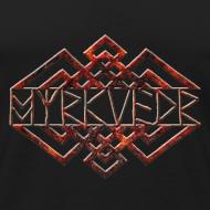 Design ~ Myrkvedr - Logo (Fire) Tank Top