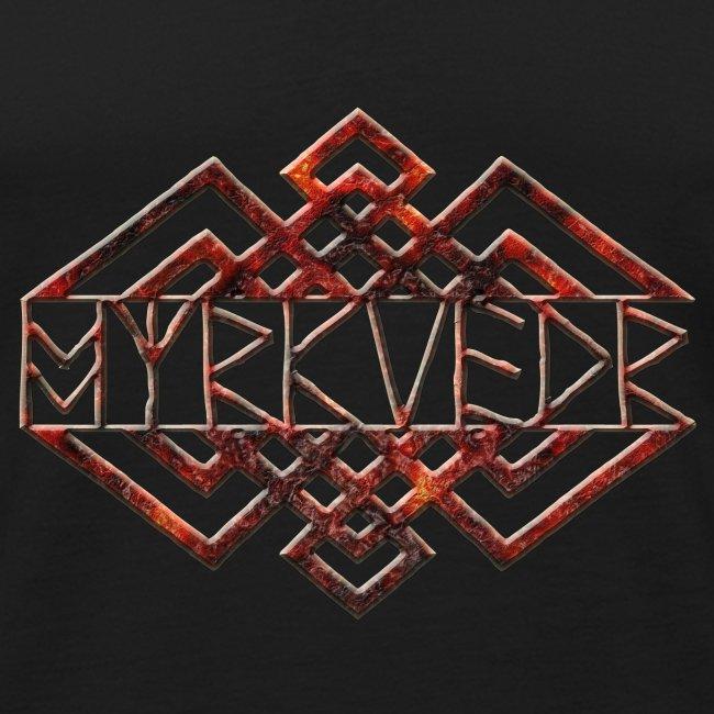 Myrkvedr - Logo (Fire) Tank Top