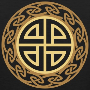 Celtic Shield Knot, Protection, Four Corner, Norse Magliette - Canotta premium da uomo
