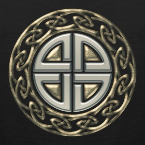 Celtic shield knot, Protection Amulet, Viking T-shirts - Premiumtanktopp herr