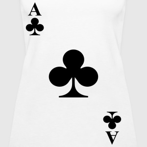 Ace of clubs Tops - Women's Premium Tank Top