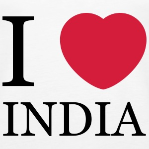 I love India Top - Canotta premium da donna