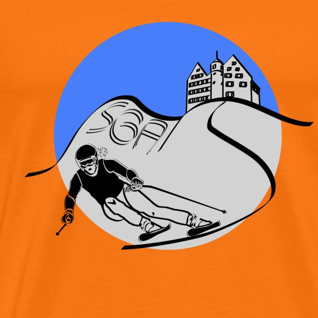 sga skiing blau
