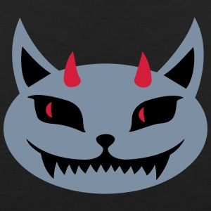devilcat T-Shirts - Men's Premium Tank Top